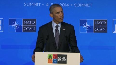PBS NewsHour -- Obama: U.S. skeptical of Ukraine cease-fire