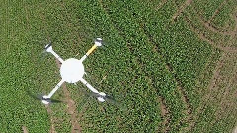 PBS NewsHour -- Using drones to limit fertilizer flow into Lake Erie