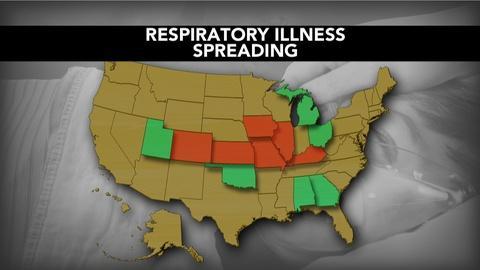 PBS NewsHour -- Rare respiratory virus hospitalizes hundreds of kids in U.S.
