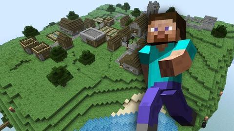 PBS NewsHour -- Microsoft considers buying gaming gold mine Minecraft