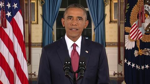 PBS NewsHour -- Obama to expand air campaign against Islamic militants