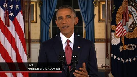 PBS NewsHour -- Obama: 'America can mobilize the world against terrorists'