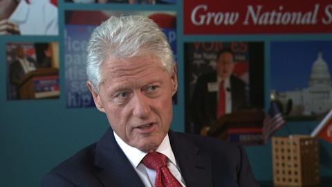 PBS NewsHour -- Clinton: Putin's media control enables him to hang on