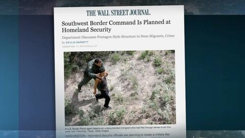 PBS NewsHour -- To tackle border crisis, US agencies aim to beef up security