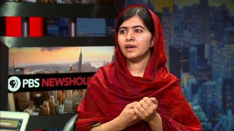 PBS NewsHour -- Malala explains why she risked death for girls' education