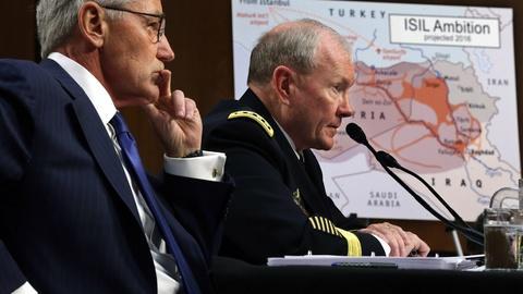 PBS NewsHour -- Will U.S. military advisors in Iraq join ground combat?
