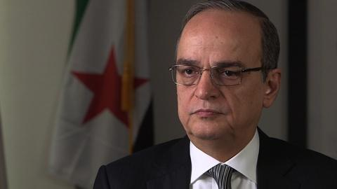 PBS NewsHour -- Syrian opposition chief: U.S. assistance against Assad