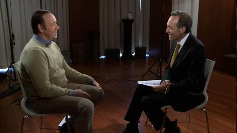 PBS NewsHour -- Full interview with Kevin Spacey, part 1