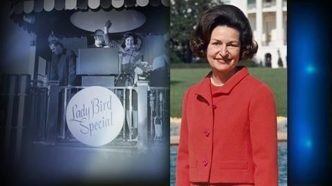 PBS NewsHour -- Remembering Lady Bird's whistle-stop tour for civil rights