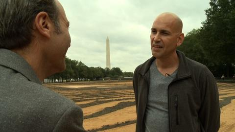 PBS NewsHour -- Jorge Rodriguez-Gerada on issues of race in his art