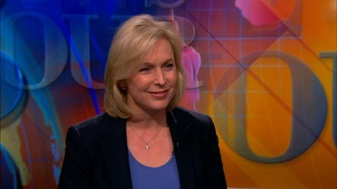 PBS NewsHour -- Gillibrand on why she's content staying in the Senate