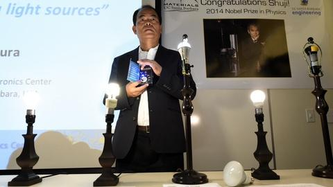 PBS NewsHour -- How many Nobel winners does it take to improve a light bulb?