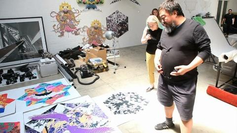 PBS NewsHour -- Artist Ai Weiwei explores definition of freedom at Alcatraz