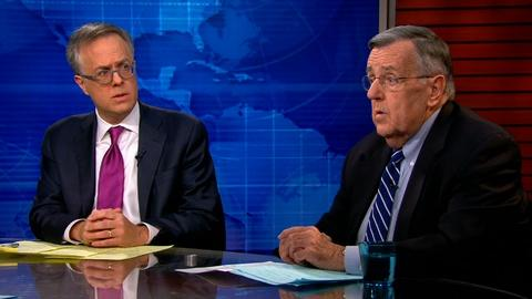 PBS NewsHour -- Shields and Gerson on Ebola as election issue