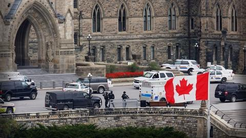 PBS NewsHour -- Rare shooting in Ottawa prompts questions about shooter