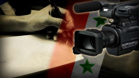 PBS NewsHour -- The obstacles and dangers of reporting on Syria