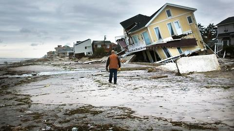 PBS NewsHour -- Red Cross defends response to Hurricane Sandy two years on