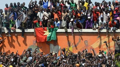 PBS NewsHour -- Will Burkina Faso inspire more power shifts around Africa?