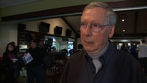 PBS NewsHour -- What McConnell would as Senate majority leader