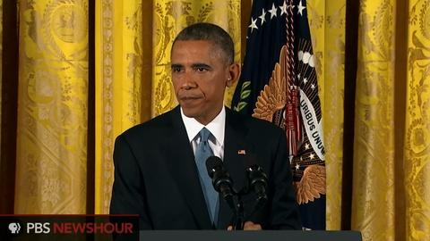 PBS NewsHour -- Obama to voters: 'I hear you'