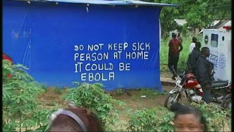PBS NewsHour -- In Sierra Leone village, Ebola aid 'too little, too late'