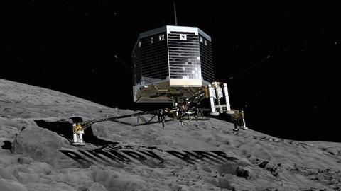 PBS NewsHour -- Science is 'bonus' after ambitious but bouncy comet landing