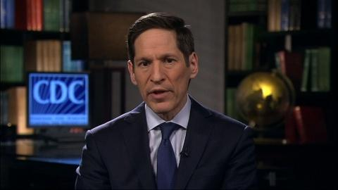 PBS NewsHour -- CDC director: We're 'nowhere near out of the woods' on Ebola