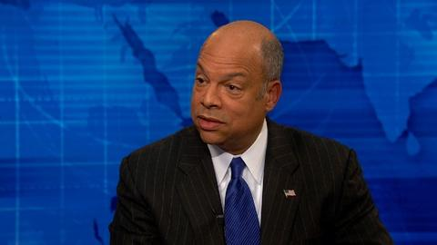 PBS NewsHour -- Jeh Johnson 'fully confident' in immigration action legality