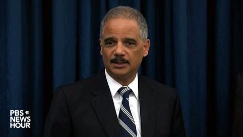 PBS NewsHour -- Holder: Cleveland PD engaged in pattern of excessive force