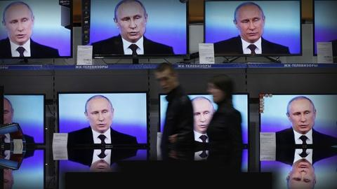 PBS NewsHour -- How the Kremlin uses TV to shape Russian political 'reality'