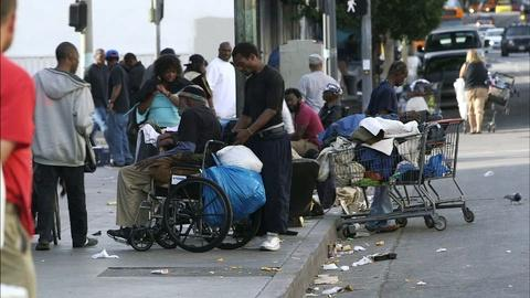 PBS NewsHour -- Should federal health program pay to house L.A.'s homeless?