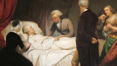 PBS NewsHour -- Bloodletting, blisters and the mystery of Washington's death
