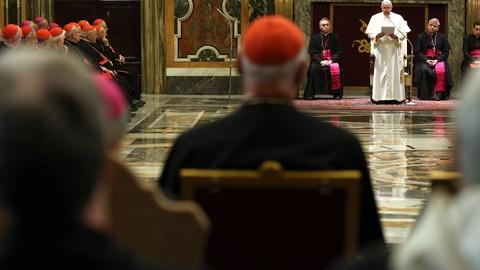 PBS NewsHour -- Pope chides Curia for greed, gossip and getting ahead