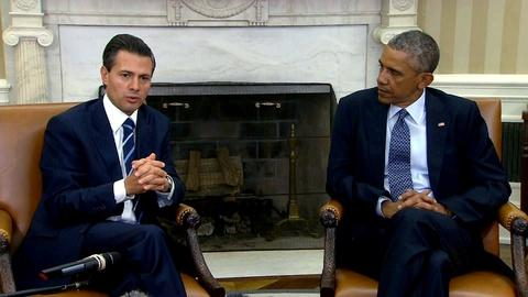 PBS NewsHour -- Mexico's President Nieto faces 'perfect storm' of problems