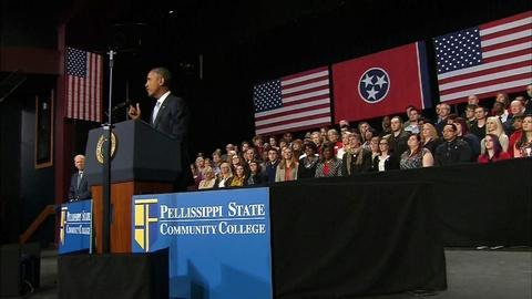 PBS NewsHour -- Would free tuition boost success at community colleges?