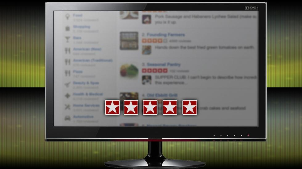 Spotting the fakes among the five-star reviews image