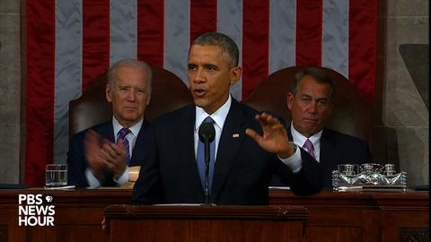 PBS NewsHour -- Obama wants U.S. to 'win the race' on science and technology