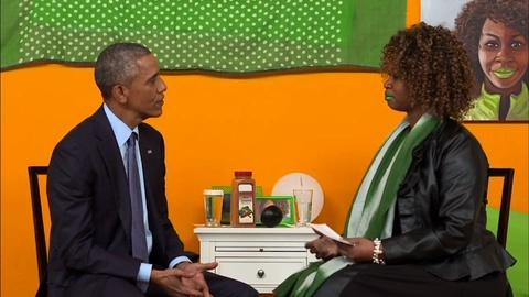 PBS NewsHour -- Interactive media helps Obama connect with the country