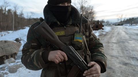 PBS NewsHour -- Despite ceasefire, military conflict escalates in Ukraine