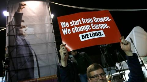 PBS NewsHour -- Greek anti-austerity party claims decisive victory