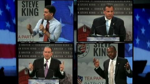 PBS NewsHour -- 2016 hopefuls aim for early buzz at GOP meetings