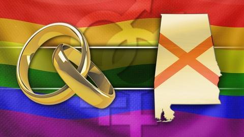 PBS NewsHour -- Ala. politics motivate a legal showdown over gay marriage