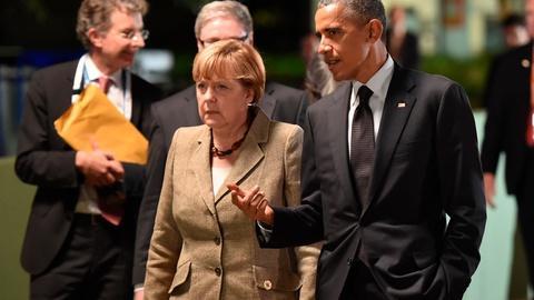 PBS NewsHour -- U.S. unity with Europe vital to pressuring Russia on Ukraine