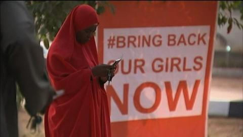 PBS NewsHour -- 'Bring Back Our Girls' protesters vow not to give up
