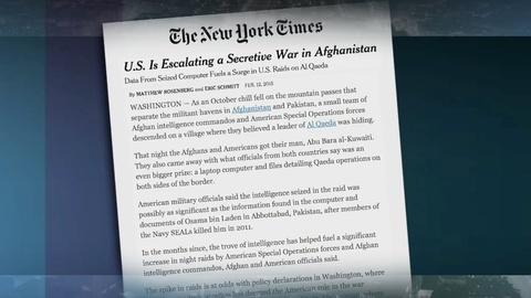 PBS NewsHour -- Why have raids on al-Qaeda in Afghanistan intensified?