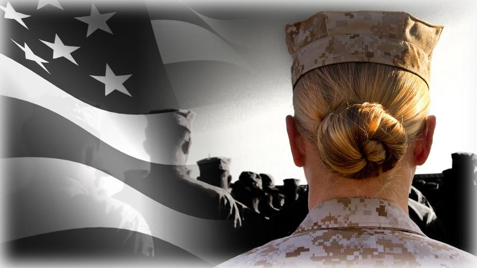 Why homecoming can be particularly hard for female veterans image