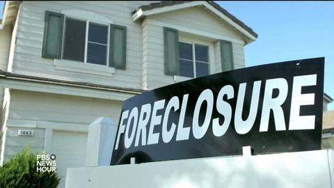 PBS NewsHour -- Get ready for another round of the foreclosure crisis
