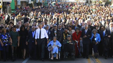 PBS NewsHour -- What challenges remain for Selma 50 years since march?