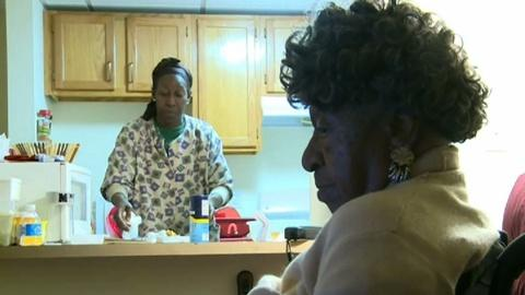 PBS NewsHour -- Why home care workers struggle with low wages