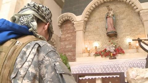 PBS NewsHour -- Former US soldier joins militia to defend Christians in Iraq
